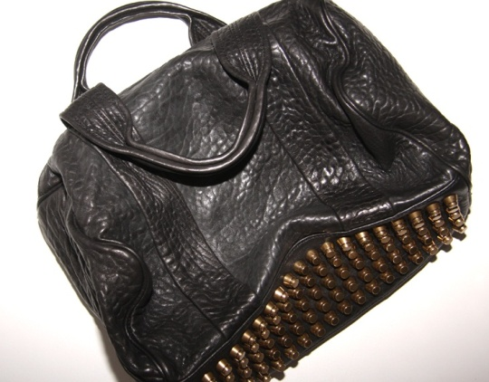 Alexander Wang coco bag. Have been obsessed with this for years.