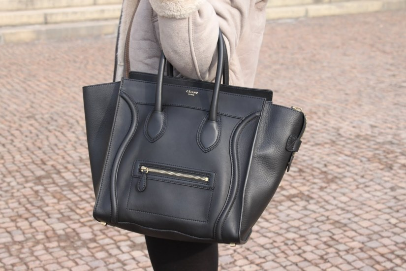 The amazing Celine bag. The hottest bag carried around NYC!