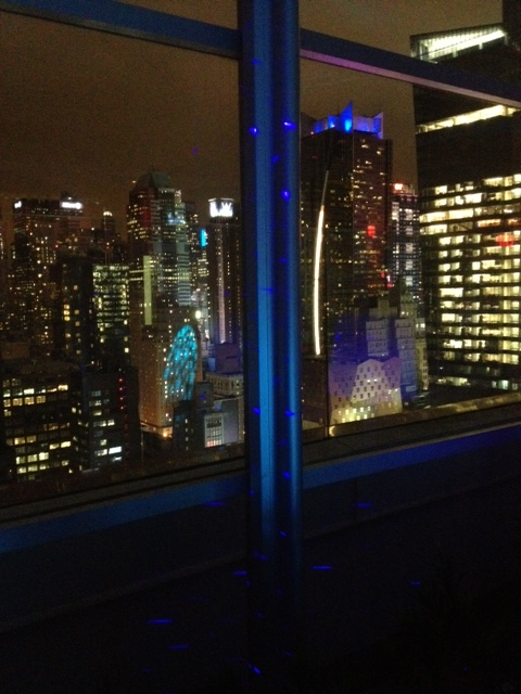The amazing venue, Skyroom in Times Square!