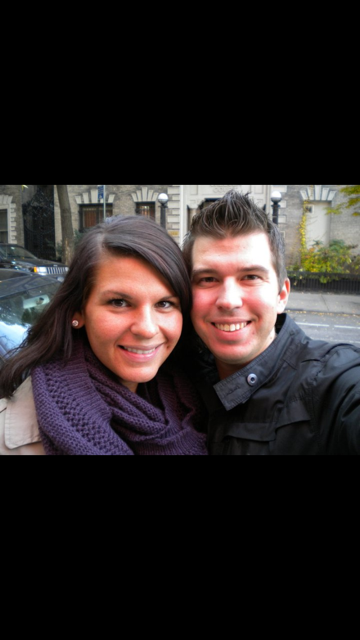 Visiting NYC months before we moved- Fall 2010