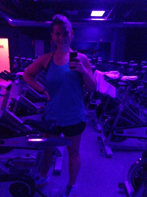 Back to spin class! But hoping thats not what is causing my hips to hurt?