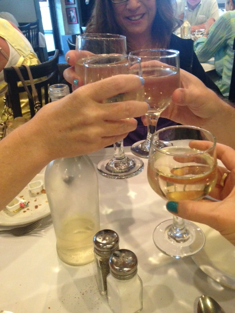 house white wine. so delicious