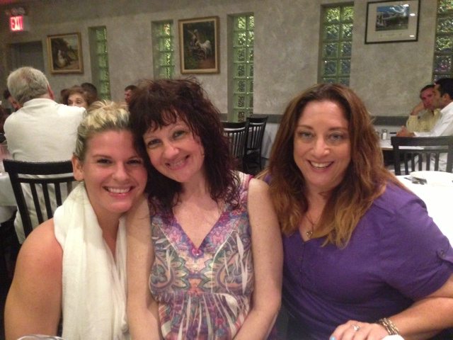 Me, my mom and Joyce. Love these ladies!