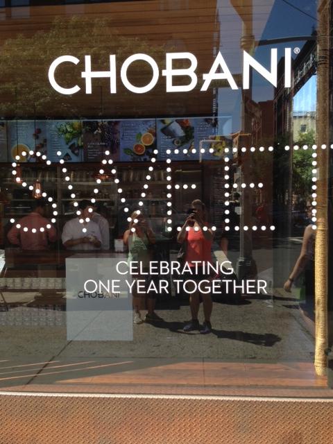 Chobani groupies!