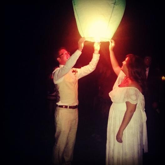 The beautiful newlyweds!