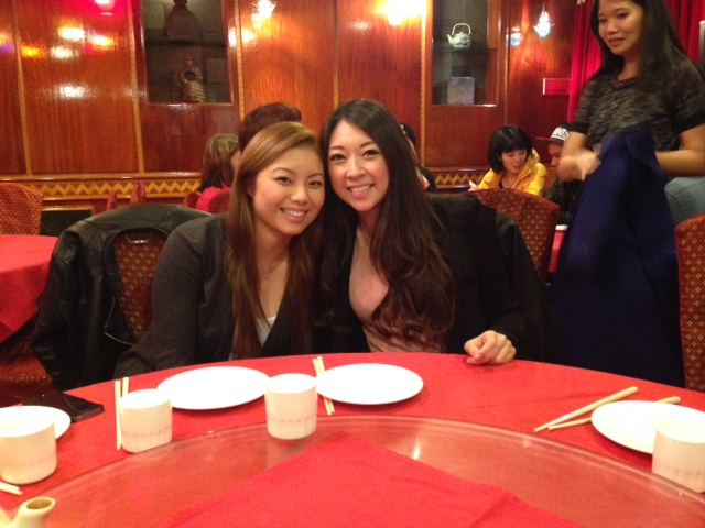 Meina & Angel! Former co-workers. We miss you!