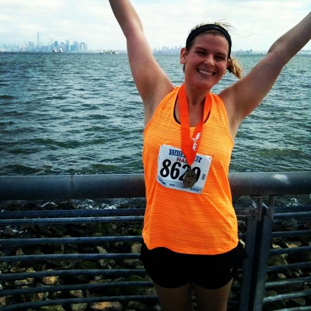 5 of 9- Staten Island 1/2 marathon where I had a HUGE PR!
