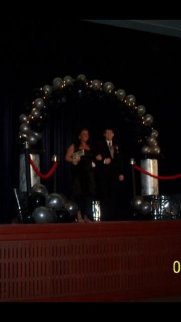 my prom! hahaha