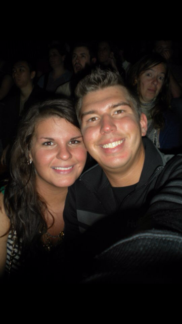 The Flaming Lips concert! I had lost 65 pounds since the picture before this!!