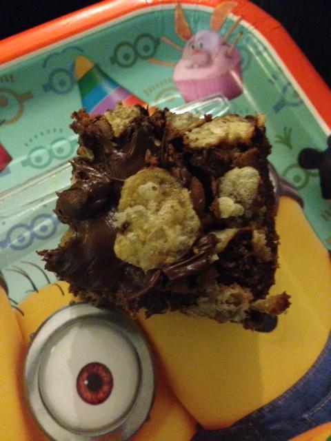 potato chip brownie!