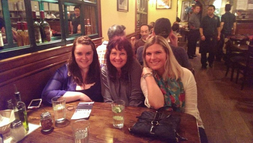 Amanda, mom, and me!