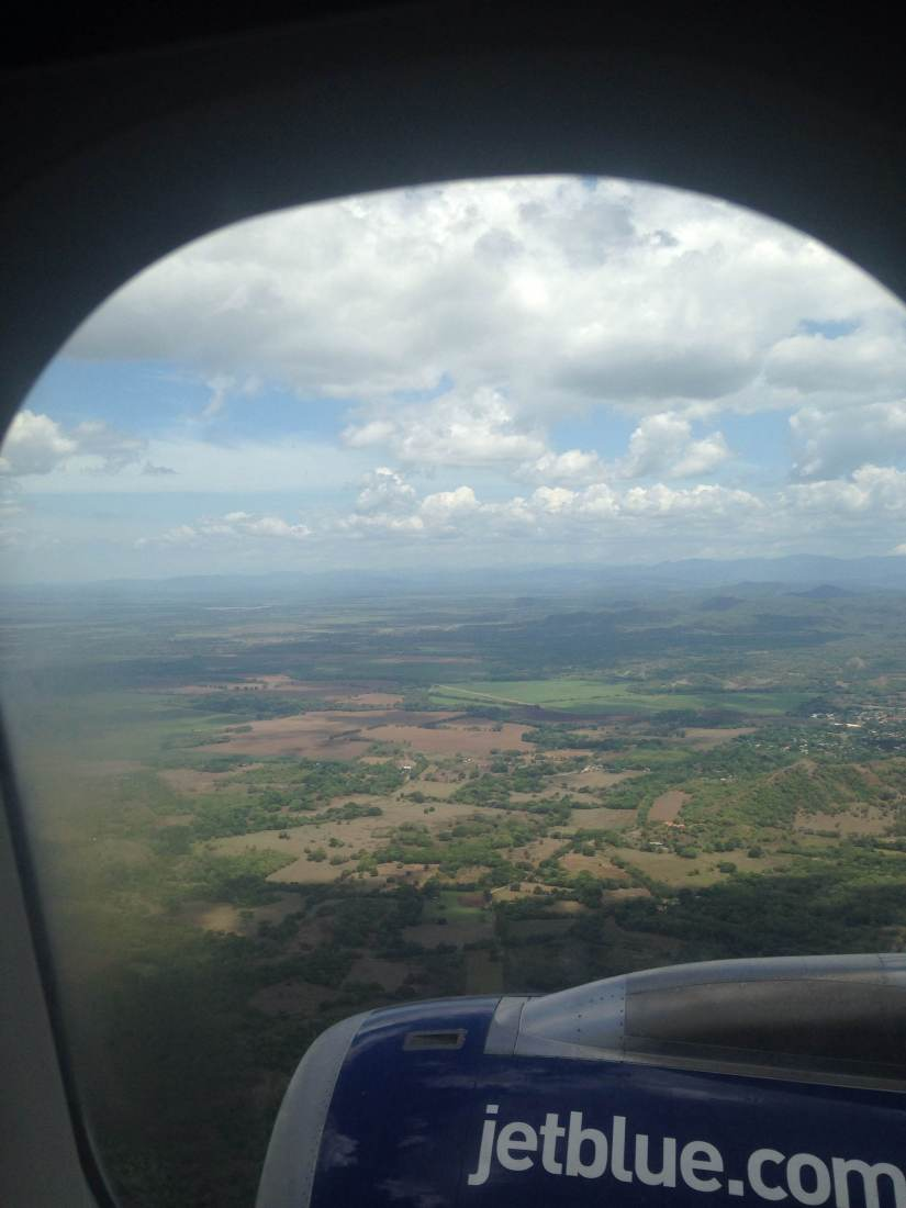 landing in Costa Rica!