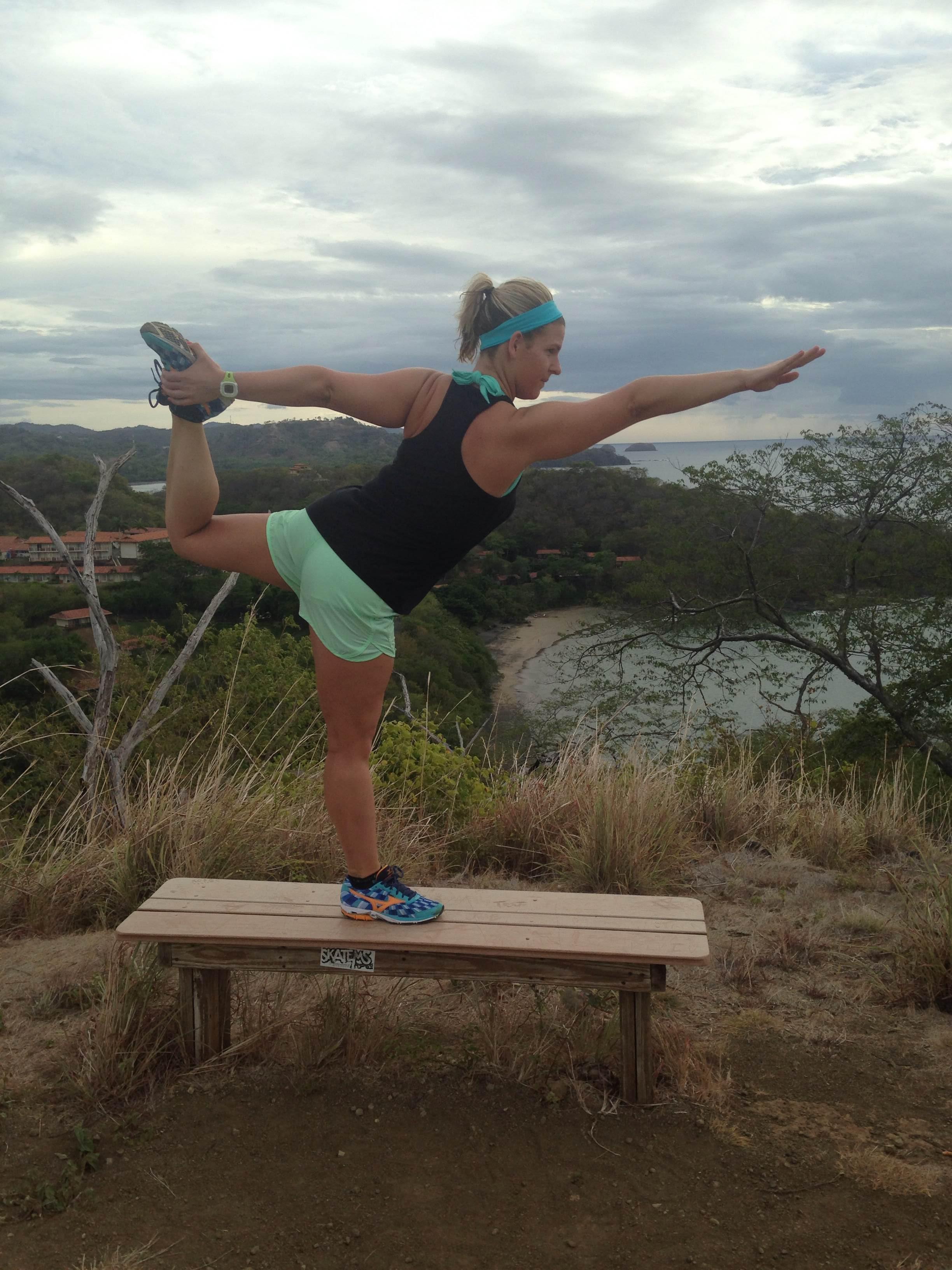 ha my attempt at yoga ;)