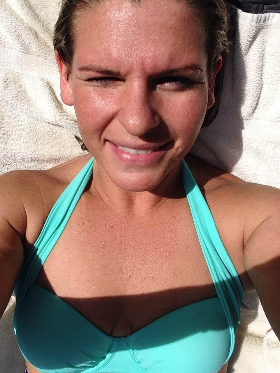 Beach squint. 8-)