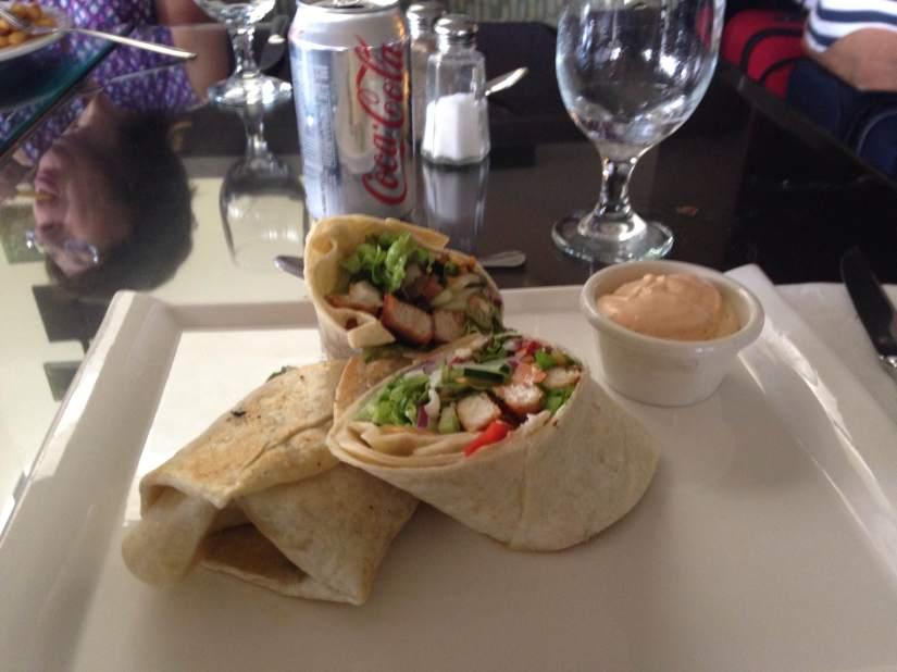 fish taco burrito, mmmm
