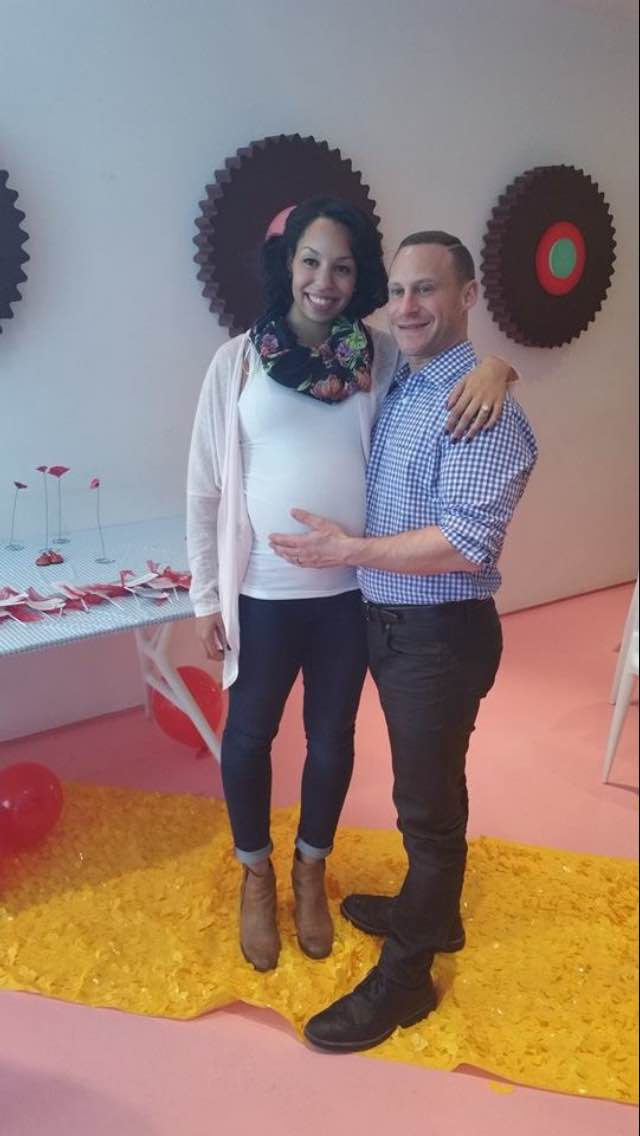 The soon to be parents!! :)
