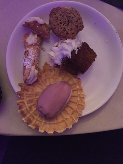 and the desserts from the wedding!